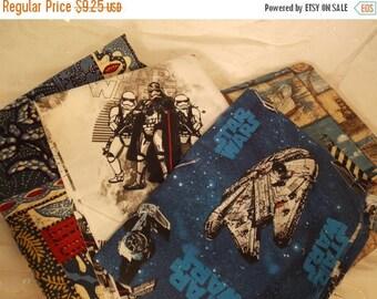ON SALE 4 Piece Fabric Bundle-Beach Star Wars-DIY Sewing Crafting
