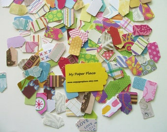 100  Tiny Tags - Punchies - Free Secondary shipping