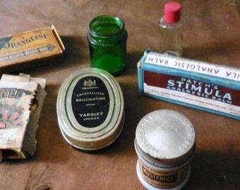 Vintage Drug Store Patent Medicines Quack Science Drug Store Vignette