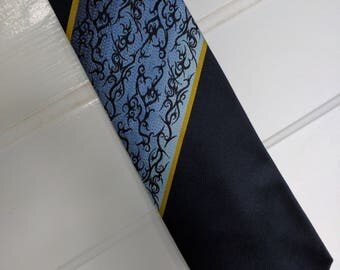 Jean Paul Gaultier tie designer stripe goth punk steampunk cyberpunk dress form 90s tribal tattoo