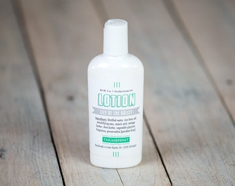 Lily of the Valley Lotion | 4 oz Lotion | Stocking Stuffer Lotion