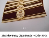 Private Listing for idocc9383cer 16 Wedding Cigar Bands - Grooms Gift - Wedding Party and Groomsman Cigar Bands - Wedding Reception