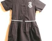 Tammy Savarese Custom Order - Harrow International School Uniform Doll Dress For American Doll - 2000