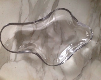 Saarinen Biomorphic Glass Bowl