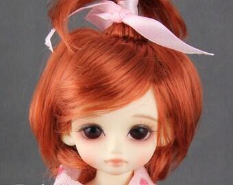 """Fatiao - New Dolls Wig Dollfie Yo-SD 1/6 BJD 6-7"""" size - Carrot"""