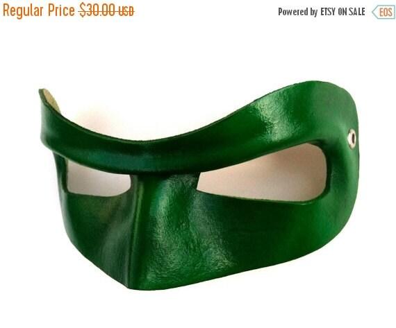ON SALE Hero Leather Mask