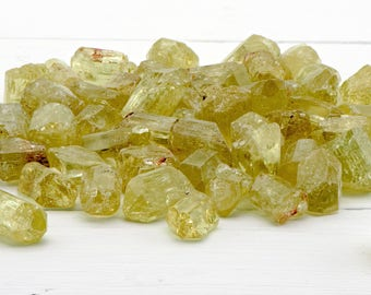 Yellow Apatite Gemstone - Stone for Enlightenment