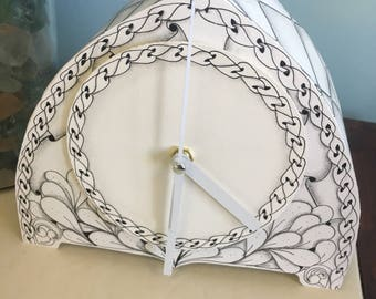 Paper Time Clock Kit-working paper clock