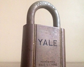 Holiday Sale. Antique Yale & Towne Manufacturing Co. Lock