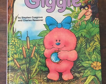 GIGGLE (The Whimsies storybooks) by Stephen Cosgrove and Charles Reasoner, 1985 Hardcover