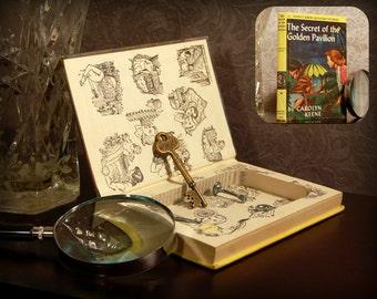 Hollow Book Secret Safe (Vintage 1959 Nancy Drew: The Secret of the Golden Pavilion)