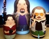 The Big Lebowski Bowling Buddies Matryoshka Trio