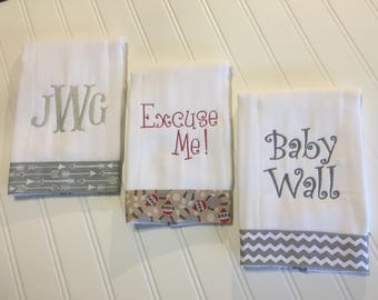 Set of Burp Cloths