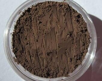Dark Deep Rich Matte Brown | Vegan Mineral Eye Shadow| Eyeliner -Zookeeper