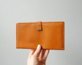 Vintage Travel Wallet, Leather Wallet