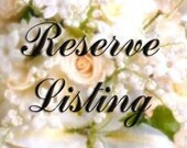 Reserved listing for Lindsey Hayes