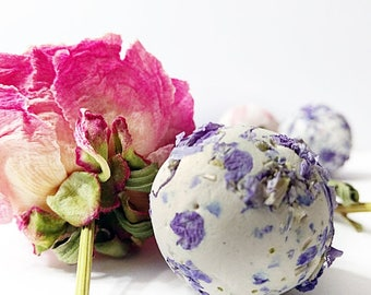 25 Wildflower Seed Bombs Organic Gifts  Blue Seed Bomb Balls Or Seed Bomb Hearts, Eco Biodegradable Gardening Gift