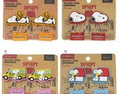 Kawaii Snoopy Rubber Double clips at your choice