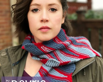 DIGITAL DOWNLOAD, Knit scarf Pattern, Scarf, Cowl, Knit Cowl Pattern, Infinity scarf, Infinity scarf pattern