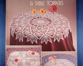 Vintage Pineapple Crochet Doilies & Tablecloths Book - Used