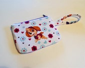 Paw Patrol Change Purse, Credit Card Case, Wristlet, Wallet
