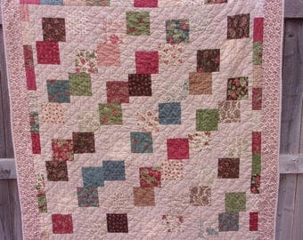 Madeira Traditional Patchwork Lap Quilt