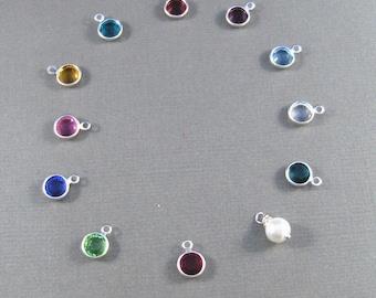 Add a birthstone to your locket.  Add on, Personalize,customized,Birthstone Locket,Birthstone Necklace,Birthstone,