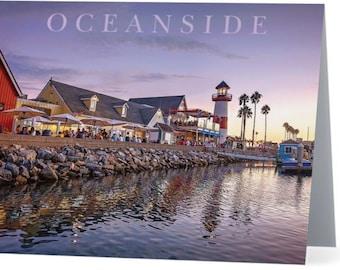 Oceanside Harbor Note Card