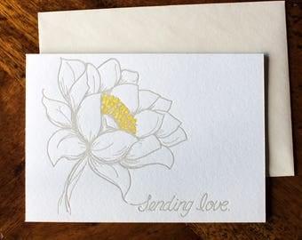 Sending Love - Card