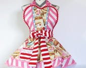 NEW Ready to Ship Diner Waitress Candy Shop Apron