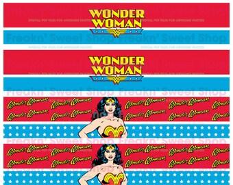 Wonder Woman Bottle Wrap PDF file