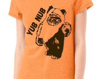 "Ewok Women's Shirt ""yub nub"" Star Wars Fan Ewok shirt - Women Star Wars Shirt"