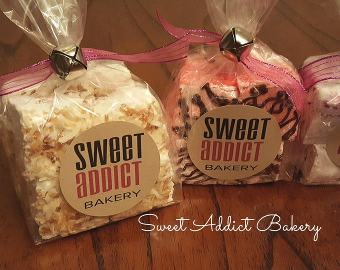 Gourmet Marshmallows - You Choose Flavor(s) - Great gift ideas for CHRISTMAS, HOLIDAYS, thank you, BIRTHDAY, client, hot chocolate, weddings