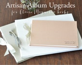 ClaireMagnolia Artisan Upgrades - double pages, make it the large size, or switch to black pages
