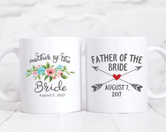Mother of the Bride Gift Father of the Bride Gift from Bride Personalized Wedding Gifts for Parents Mother of the Bride Gifts from Daughter
