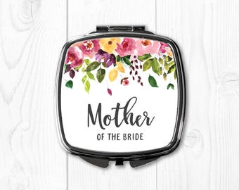 Mother of the Bride Gift from Bride Wedding Gift for Mom Compact Mirror Personalized Mother of the Bride Wedding Gift Ideas for Parents
