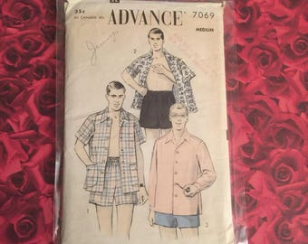 50's  Vintage Advance Sewing Pattern