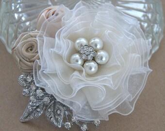 Hair Accessory,wedding fascinator, Bridal hair piece ,wedding hair piece,bridal fascinator