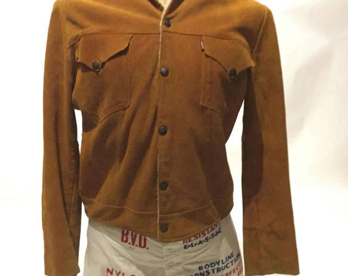Vintage Capital E Levi's Suede Jacket (DS-Levi-J-1)