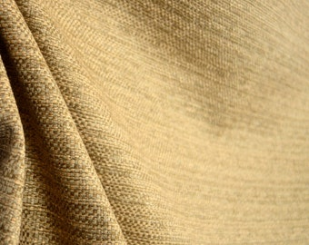 Wheat Upholstery Fabric REMNANT 55 inches x 2 yards