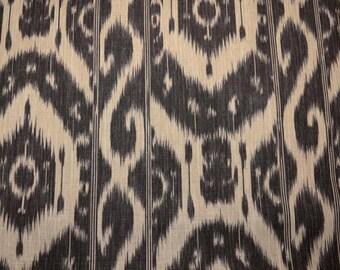 Kura Kura Charcoal Clarence House Fabric