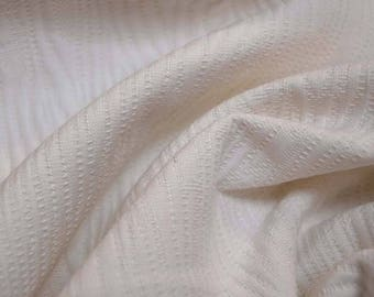 White Textured Fabric
