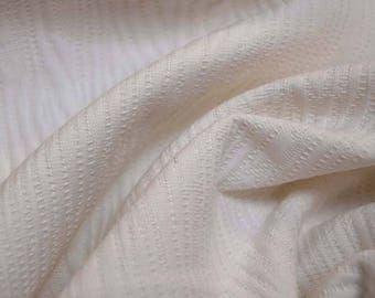 White Textured Fabric