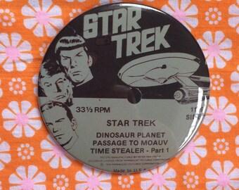 """Star Trek LP 3.5"""" pin/magnet/mirror"""
