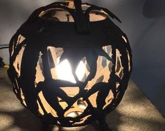 pair of iron japanese lanterns