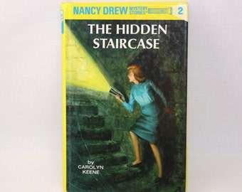 Nancy Drew Mystery Stories - The Hidden Staircase - 1994 Printing  (108-2)
