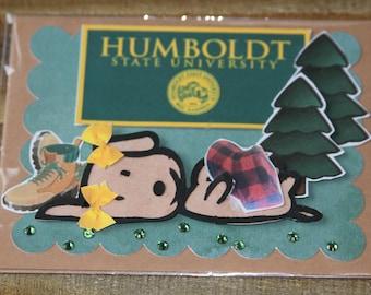 Humboldt State University Greeting Card-1