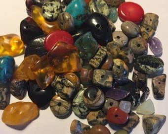 Mixed Stone Beads