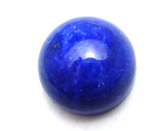 15mm Lapis Lazuli Cabochon Round Cab Calibrated AAA Grade Ring Stone or Earrings pre made jewelry settings