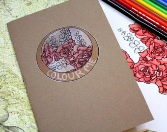 Colouring Book - Floral